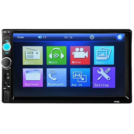Navigatie,MP5 player auto 7018, Ecran tactil 7 Inch,