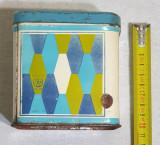 Jucarie veche Epoca de Aur 1971 Cutie din tabla AGATEX Dulciuri - Bomboane