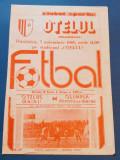 Program meci fotbal OTELUL GALATI - OLIMPIA RAMNICU SARAT (03.11.1985)