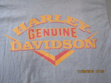 Tricou Harley Davidson Genune -USA,  100% bumbac.