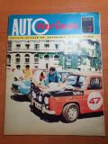 Revista autoturism iulie 1972-ghid dacia
