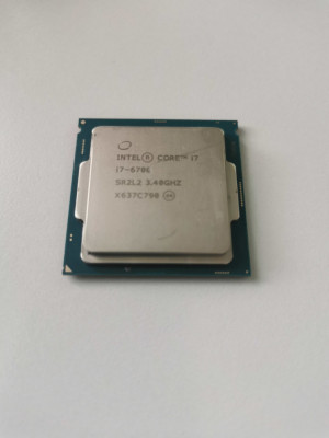 Procesor PC Desktop Intel i7-6700K FCLGA1151 socket 1151 foto