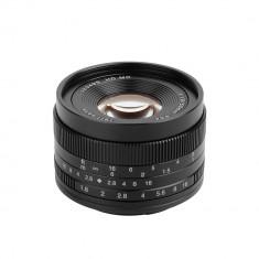 Obiectiv 7Artisans 50mm F1.8 APS-C pentru Sony E-mount