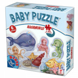 Set 6 puzzle-uri Baby Puzzle Animale Acvatice, D-Toys