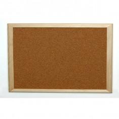 Panou pluta, rama lemn, 40x60 cm - TUPIKO