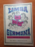 Manual limba germana - pentra clasa a 2-a  - din anul 1975, Clasa 2