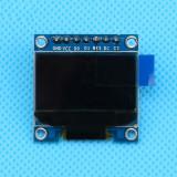 """Display 0.96"""" OLED 128x64 7 pini IIC I2C Arduino ( ALBASTRU - BLUE ) (v.79)"""
