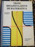 Catalin Petru Nicolescu-Teste recapitulative de matematica 1989
