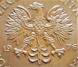 Moneda 20 ZLOTI - POLONIA, anul 1976  *cod 4626 - Marceli Nowotko