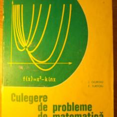 CULEGERE DE PROBLEME DE MATEMATICA PENTRU TREAPTA A II-A DE LICEE - I. GIURGIU,