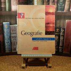 "Grigore Posea - Geografie manual pentru clasa a 7 a ""A7096"", Clasa 7"