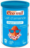 Pudra BIO instant pentru bautura de migdale original cu calciu, 400g Ecomil