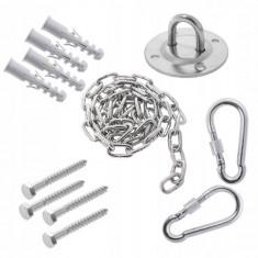 Kit accesorii pentru montare leagan sau hamac, fixare in tavan