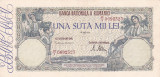 ROMANIA 100000 LEI MAI 1946 AXF