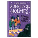 Cumpara ieftin Sherlock Holmes. Semnul celor patru, Stephanie Baudet, Curtea Veche