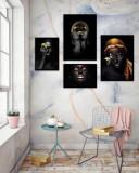 Cumpara ieftin Set 4 tablouri decorative Gold Woman, Heinner