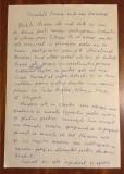 Manuscris eseu 2 pag. GRIGORE VIERU despre NICHITA STĂNESCU (semnat,12.09.1976)