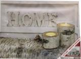 Tablou Canvas , HOME , 2 Led-uri , 40x30cm