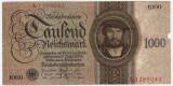 GERMANIA 1000 Reichsmark MARCI 1924 UZATA