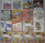 Vinyl Povesti,basme Jules Verne,Sadoveanu,Ion Creanga,Pinocchio,Pacala,Andersen, VINIL