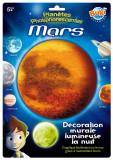 Sticker decorativ fosforescent - Marte   Buki