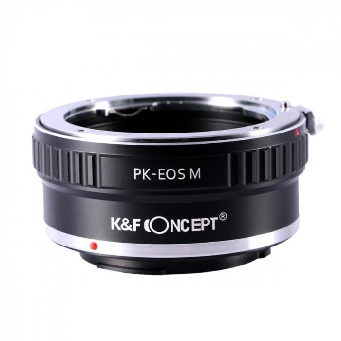 K&F Concept PK-EOS M adaptor montura de la Pentax K la Canon EOS M KF06.123