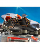 Pantofi protectie cu bombeu metalic si lamela antiperforatie