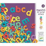 Set Litere mici magnetice, 83 piese, Djeco