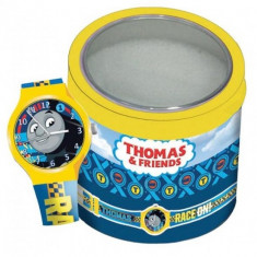 Ceas Junior WALT DISNEY KID WATCH Model THOMAS THE TRAIN - Tin Box 570421