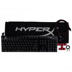 Tastatura kingston hyperx alloy fps fir detasabil neagra iluminata usb anti-ghosting cherry mx blue