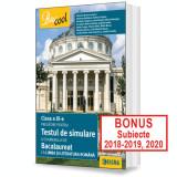 PREGĂTIRE PENTRU TESTUL DE SIMULARE A EXAMENULUI DE BACALAUREAT LA LIMBA ȘI LITERATURA ROMÂNĂ 2017 CLASA A XI-A.