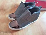 Sneakers argintii, marimea 38