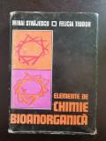 ELEMENTE DE CHIMIE BIOANORGANICA - Strajescu, Teodor