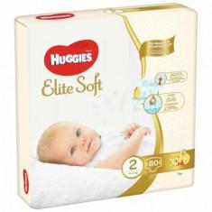 Huggies Elite Soft (nr 2) Mega 80 buc, 4-6 kg