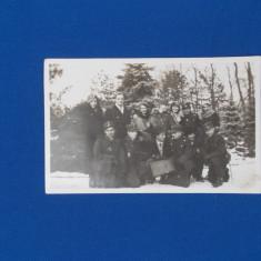 FOTOGRAFIE GRUP CU MILITARI , DATATA 1931