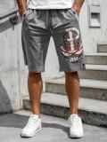 Pantaloni scurți grafit bărbați Bolf QN230A