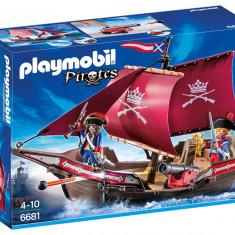 Jucarii Playmobil – Barca soldatilor cu tun