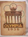 Carte Jocurile Olimpice din 1936 la care a participat Hitler cu poze