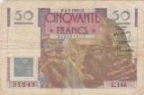 FRANTA 50 FRANCI 1950 F