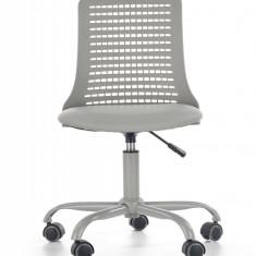 Scaun de birou pentru copii Pure Grey, l43xA42xH78-89 cm