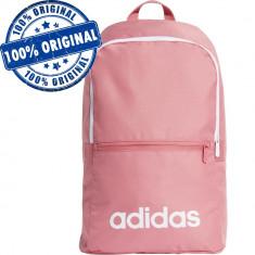 Rucsac Adidas Linear Classic - rucsac original - ghiozdan scoala, Roz, Marime universala