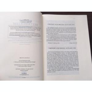 BIBLIA NOVUM TESTAMENTUM LATINE. EDITIA 2014 DEUTSCHE BIBELGESELLSCHAFT