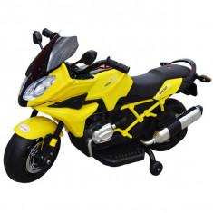 Motocicleta cu acumulator si 2 motoare 6V