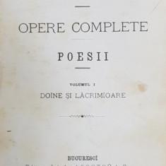 Vasile Alecsandri, Opere Complete, Poesii, Editia I - Bucuresti, 1875