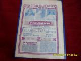 program      FC  Arges   -  FC  Valencia