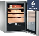 Humidor frigorific Liebherr Premium ZKes 453, 39 l, 4 rafturi, Inox