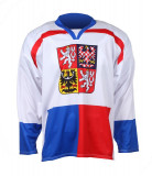 Ice Hockey Jersey CZ Nagano 1998 alb XL