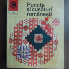 Puncte si cusaturi romanesti - Mihaela Scinteianu (1973)