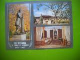 HOPCT 50523  STATUIA LUI PUSKIN -CHISINAU MOLDOVA-BASARABIA-NECIRCULATA