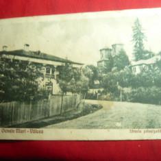 Ilustrata Ocnele Mari- Valcea - Str. Principala ,circulat 1931 ,francat cu 2 lei